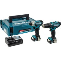 Makita  CLX202AJ Combi Drill & Impact Driver Twin Pack Kit - 10.8V