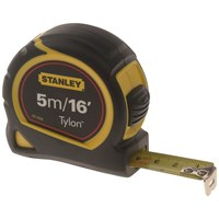 Stanley  Pocket Measuring Tape Carded - 5m (16ft)