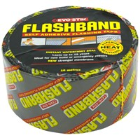 Evo-Stik  Flashband Self Adhesive Flashing Tape 100mm x 10m - Grey