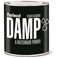 Fleetwood  Damp & Water Mark White Matt Primer - 1 Litre