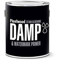 Fleetwood  Damp & Water Mark White Matt Primer - 2.5 Litre