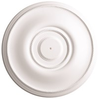 Gyproc Artex Georgian Decorative Plaster Ceiling Rose