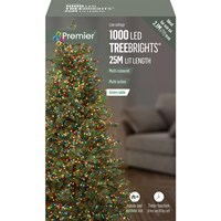 1000 LED Multi-Action Treebrights w/ Timer - Multi-Coloured