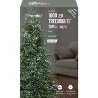 1000 LED Multi-Action Treebrights with Timer - White