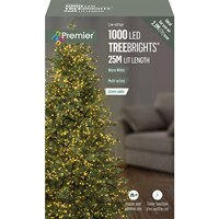 1000 LED Multi-Action Treebrights with Timer - Warm White