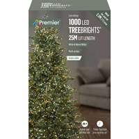 1000 LED Multi-Action Treebrights w/ Timer White/Warm White