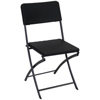 Tivoli  Folding Chair - Black
