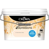 Crown  Breatheasy Mid Sheen Emulsion Paint - 10 Litre