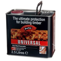 Protim  Clear Universal Wood Preservative - 2.5 Litre