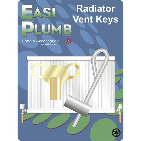 Easi Heat  Radiator Vent Key Set