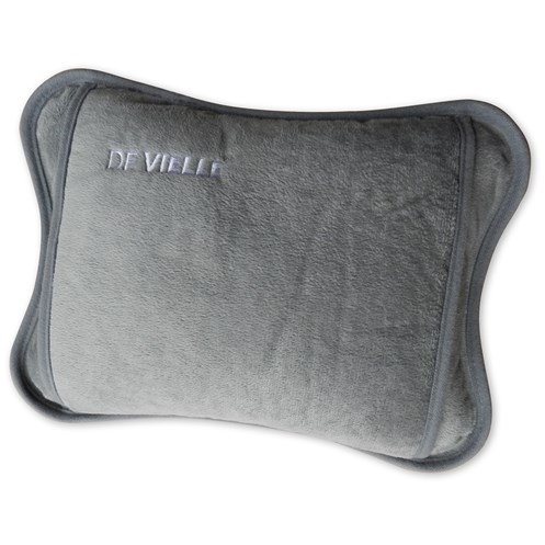 De Vielle  Rechargeable Hot Water Bottle - Grey