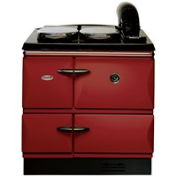 Stanley  Brandon Cast Iron Oil Range Cooker - Claret