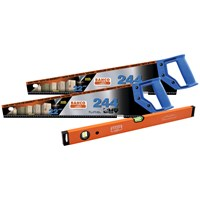 Bahco  Twin Saw Pack - 22in with Spirit Level