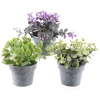 Kaemingk  Artificial Eucalyptus Potted Plants